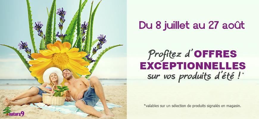Tout l'été, profitez de conseils et d'offres exceptionnelles dans votre magasin Natura9